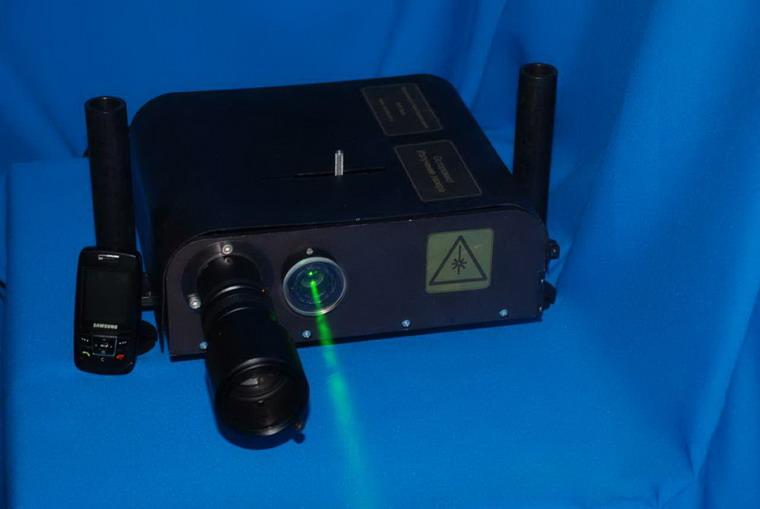 Визуализатор наноперемещений, базовая модель